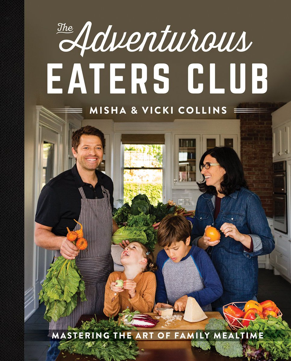 The Adventurous Eaters Club cookbook cover.