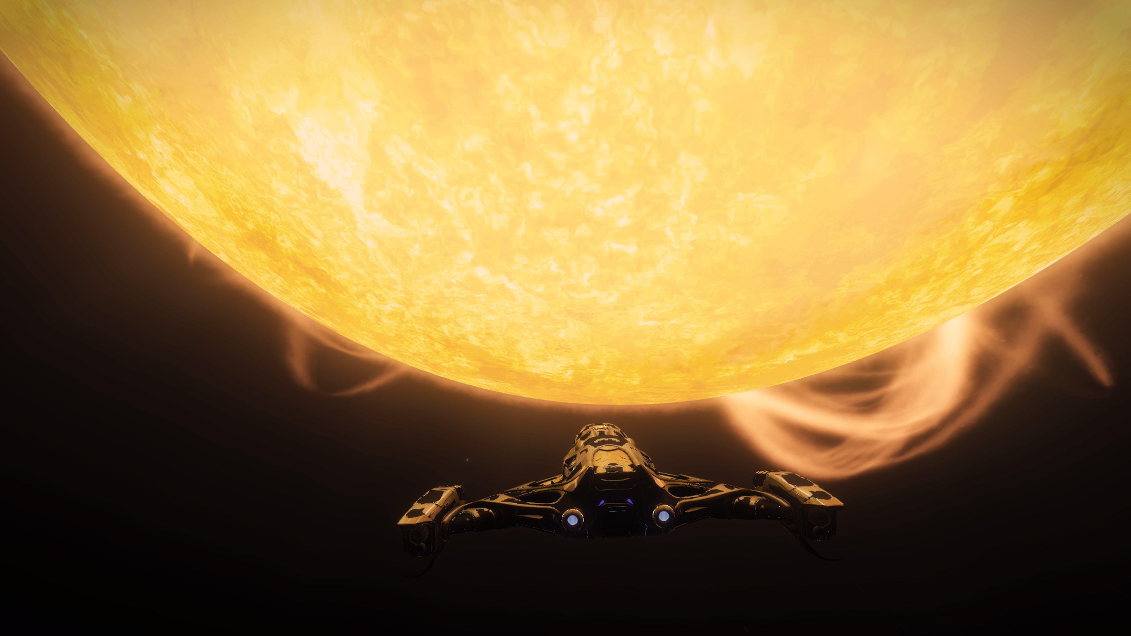 Basking at Amundsen's Star