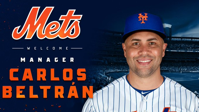 BREAKING: Mets plan to make Carlos Beltrán their next manager