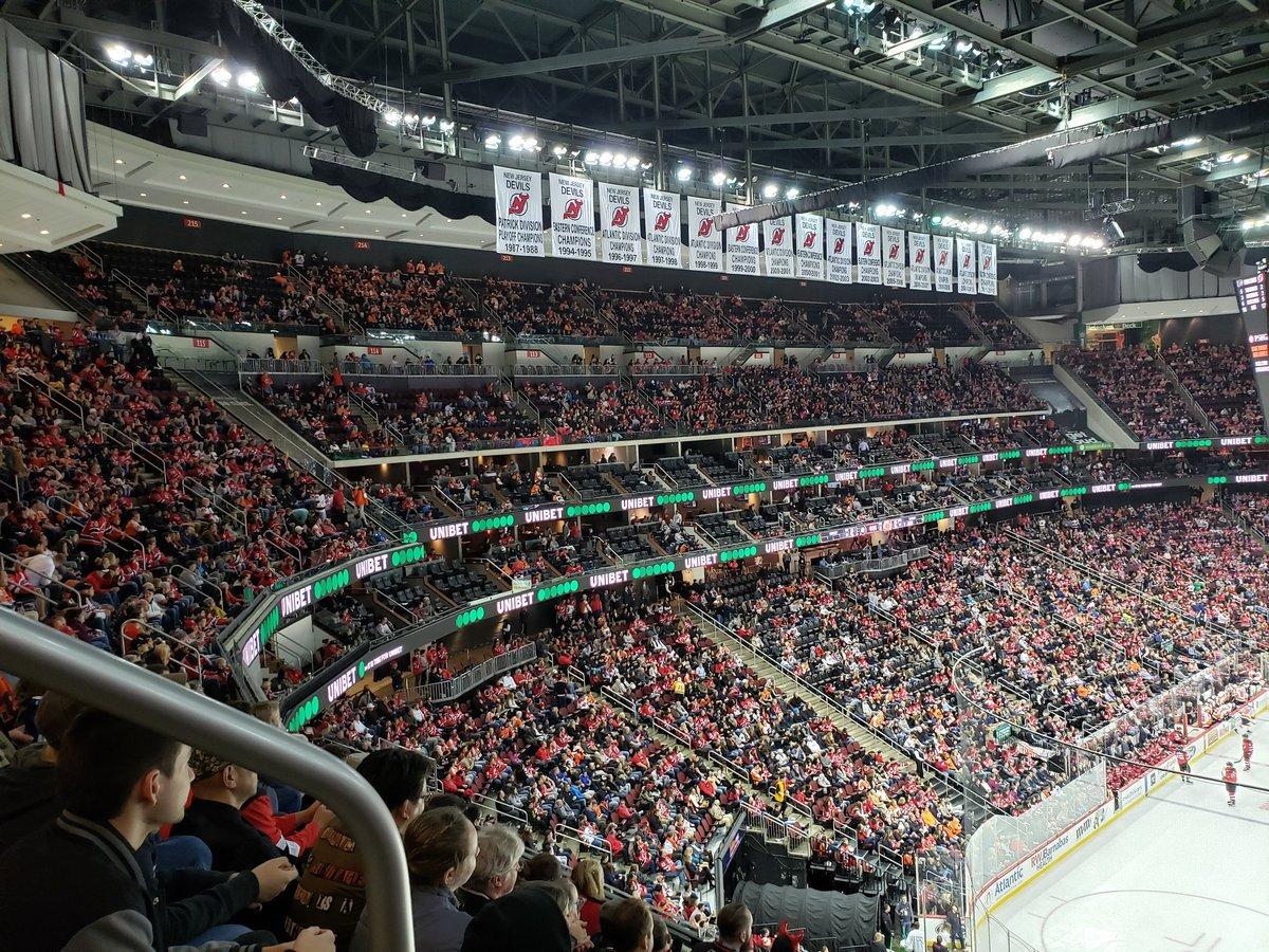 Newark #NHL RT @RussLydon82: @[me] Friday night at the Rock. #njdevils #FlyOrDie