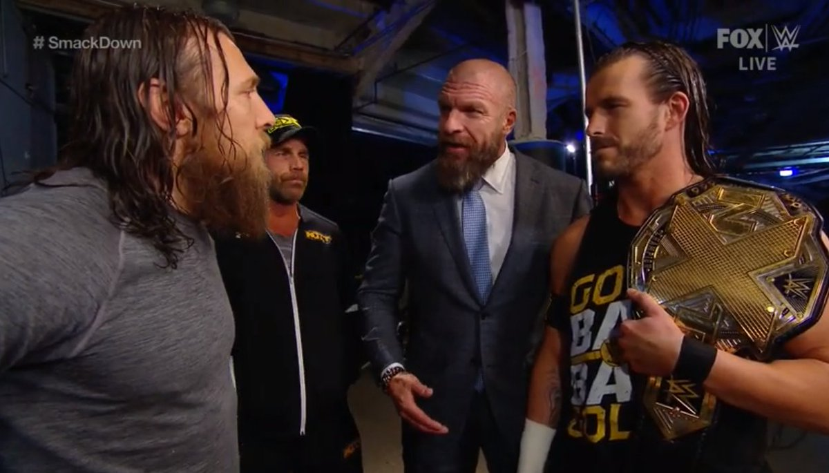 """WrestlingINC.com on Twitter: """"Holy #ProWresting Gods it's official: DANIEL  BRYAN vs ADAM COLE for the #NXT Championship tonight on #SmackDown!!… """""""