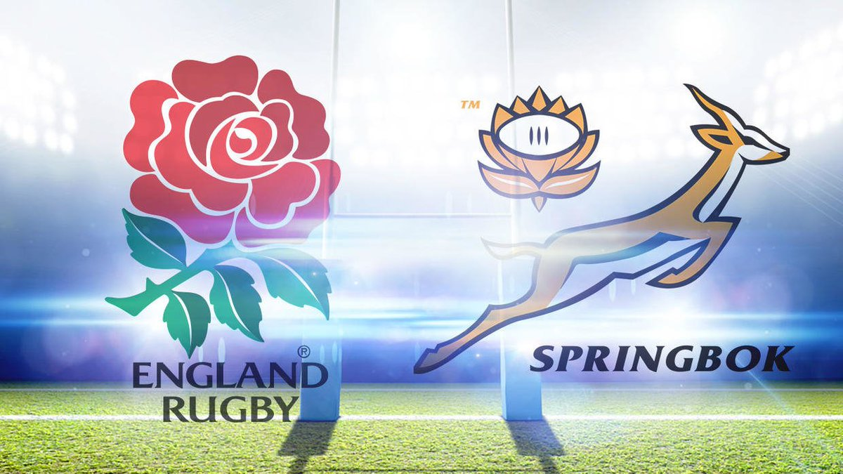 LIVE: England take on South Africa's Springboks in Rugby World Cup final