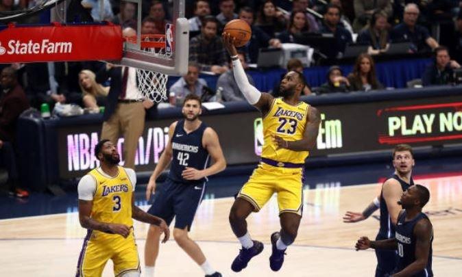 Tsn On Twitter Nba Lakers 119 Mavericks 110 Ot