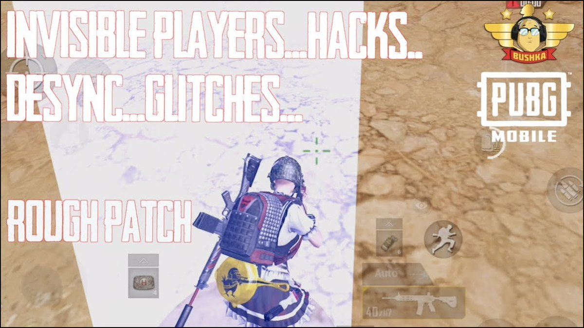 INVISIBLE PLAYER HACKS GLITCHES AND A ROUGH PATCH PUBG MOBILE  Link: http://tinyurl.com/y276a87d  #BESTMOBILEGAME2018 #BUSHKA #INVISIBLEPLAYERHACKSGLITCHESANDAROUGHPATCHPUBGMOBILE #pubg #pubgmobile #PUBGMOBILEANDROID #pubgmobilebug #PUBGMOBILEFUNNY #pubgmobileglitchpic.twitter.com/xswwbjOQqj