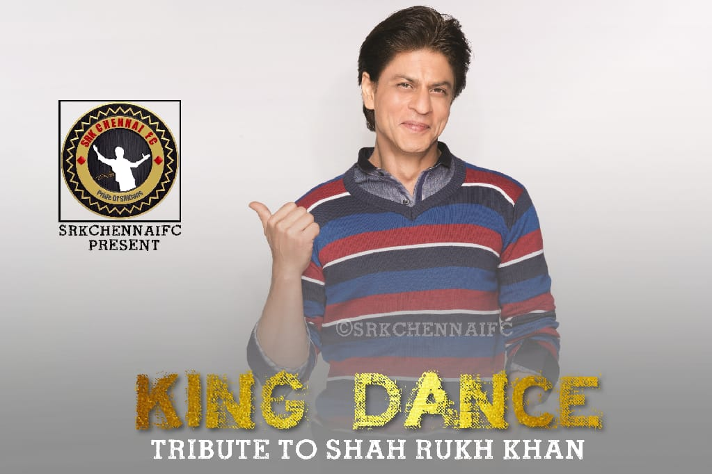 Team SRKCFC presenting #KingDance - A special tribute to the World's Biggest Superstar @iamsrk in the theme of #LungiDance Watch and celebrate #SRKDay and make it KHANtastic❤. #HappyBirthdaySRK