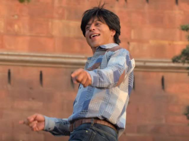 """Happy B'day to @iamsrk who called late one night, to check the spelling of the names of a few new lyricists we'd worked with cuz """"if our names are printed wrong it doesn't matter, but for new guys it means a lot.""""   I bet he doesn't even remember, but I always will."""