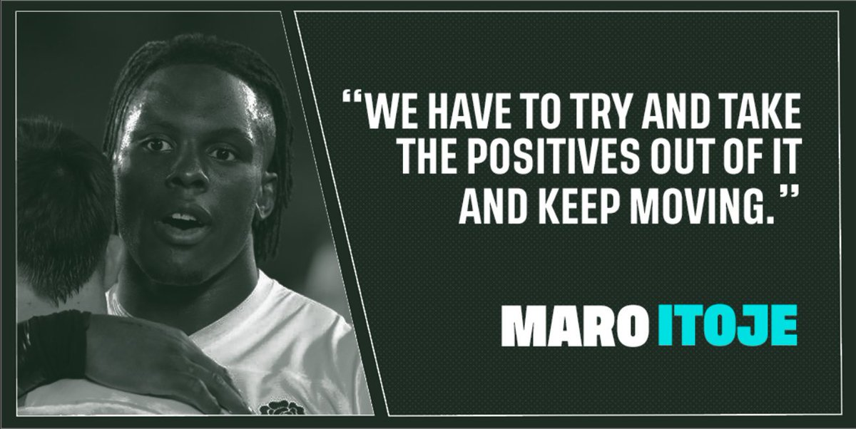 """""""There is no one better in world sport than the English fans; they have travelled in numbers out here to support us right from the start to now. @maroitoje reflects on Englands Rugby World Cup journey and the amazing support the team has had ➡️ bit.ly/32azacG"""