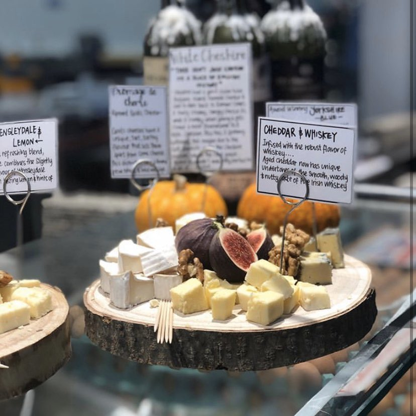 Best Cheese Counter in Leeds Market 😋🧀 #cheeselovers