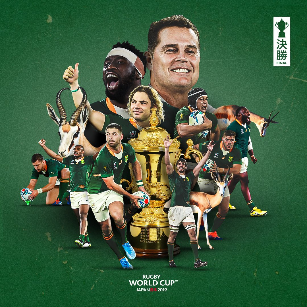 Rugby World Cup On Twitter Full Time In Rwcfinal