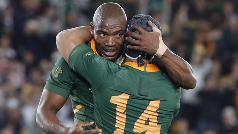 South Africa beat England to lift Rugby World Cup