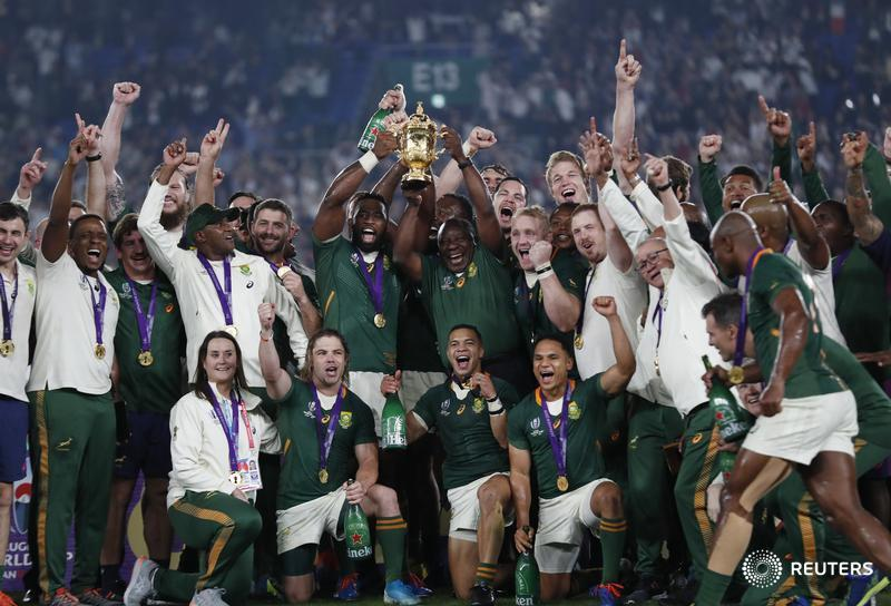 South Africa dominate England to win their third Rugby World Cup