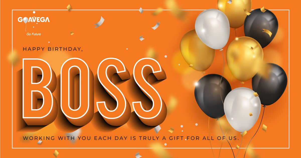 People do not follow bosses, they follow leaders. You have so many followers as you are a great leader. Happy Birthday, Dear Boss!  #happybirthday #Goavega #GoFuture #bossbirthday #novemberbirthday<br>http://pic.twitter.com/UXdktIWlZ7