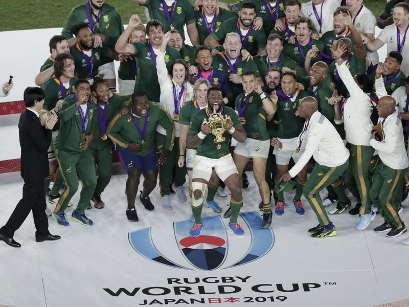 Soweto celebrates South Africa's first Rugby World Cup win under black captain