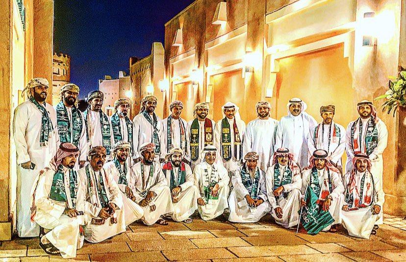 جولة #سياحية للاشقاء من دول #الخليج في #الدرعية التاريخية و #البجيري في #الرياض  احتفالا ب #اليوم_الوطني89_السعودي #همة_حتى_القمه#هايكنج_السعودية