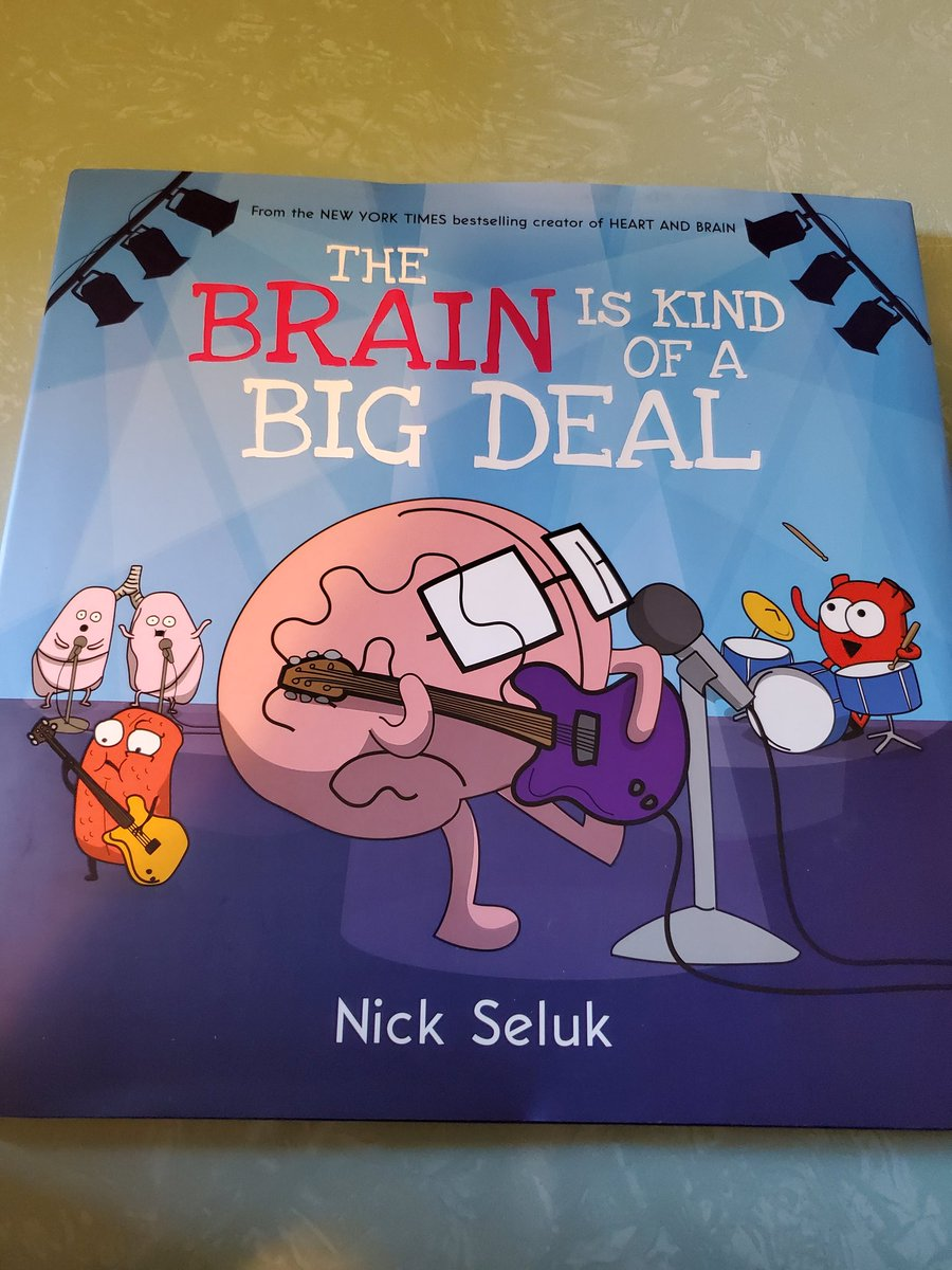 Highly recommend to the brain lovers out there!! My 8yo loved it too! #brainscience