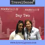 Image for the Tweet beginning: Day Two RootsTech London Day: