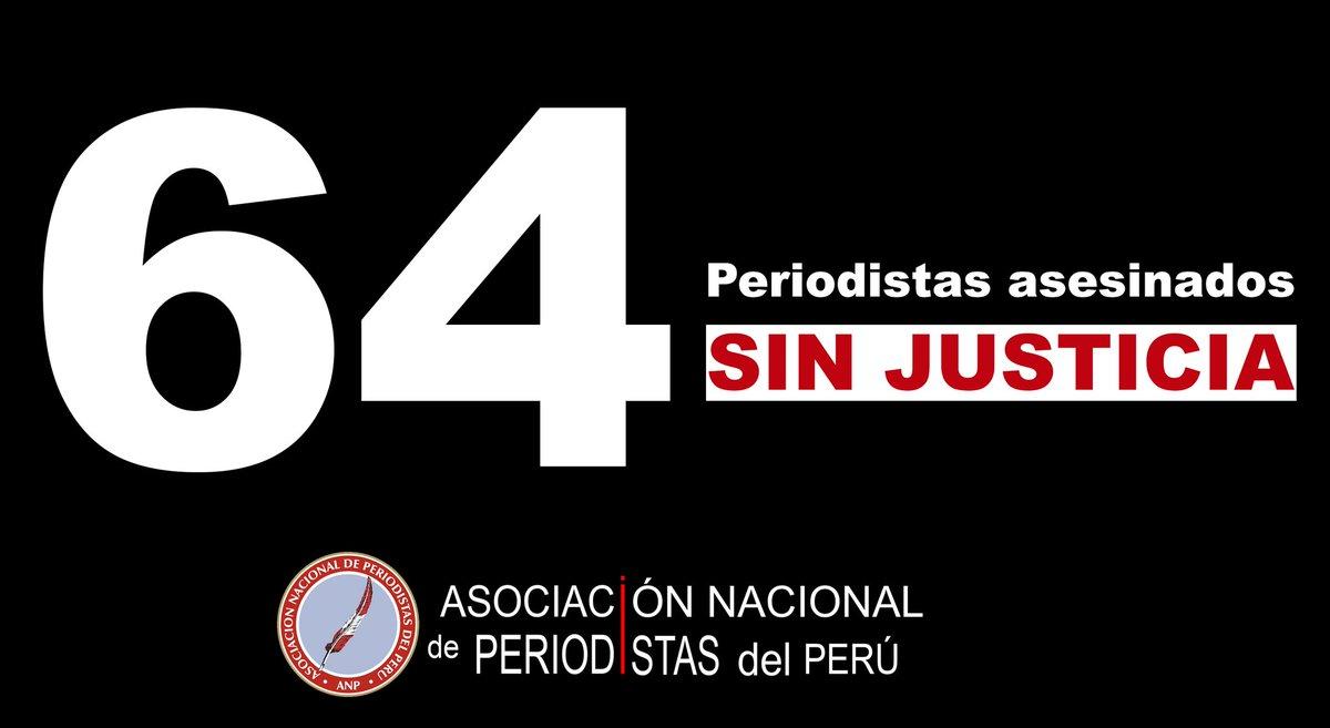 Hoy el mundo conmemora el Día Internacional para Poner Fin a la #Impunidad de los Crímenes contra #Periodistas, por ello, la @ANP_periodistas hace hincapié en los 64 periodistas asesinados desde los 80 hasta la actualidad. #EndImpunity #IDEI @IFJGlobal @FIP_AL