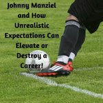 Image for the Tweet beginning: Johnny Manziel and how unrealistic