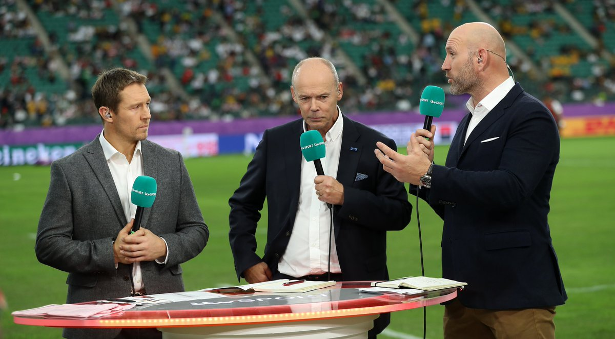 """""""I like to think this World Cup is going to inspire the young people watching. Hear what the experts had to say on #RWC2019 bit.ly/2PEXuk9"""