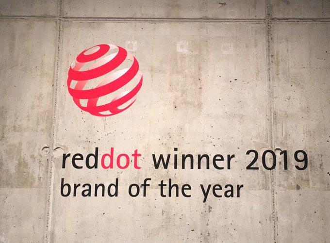 Preisverleihung: RedDot in Berlin. Marken und Kommun