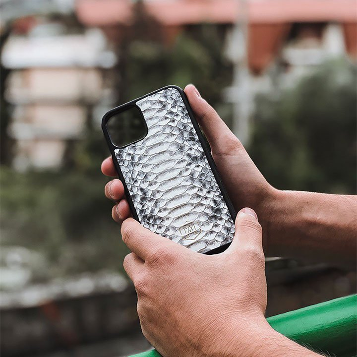 Cover Iphone 11 Pro Max in vera pelle - Andrea Morante ®️