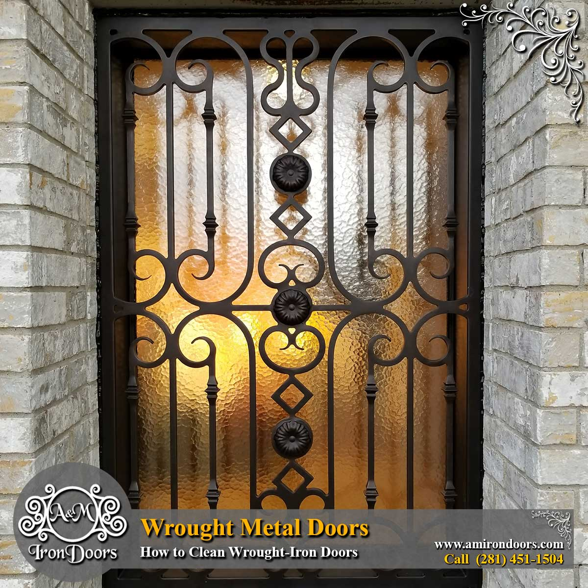 Alberto Marin On Twitter Wrought Metal Doors How To Clean