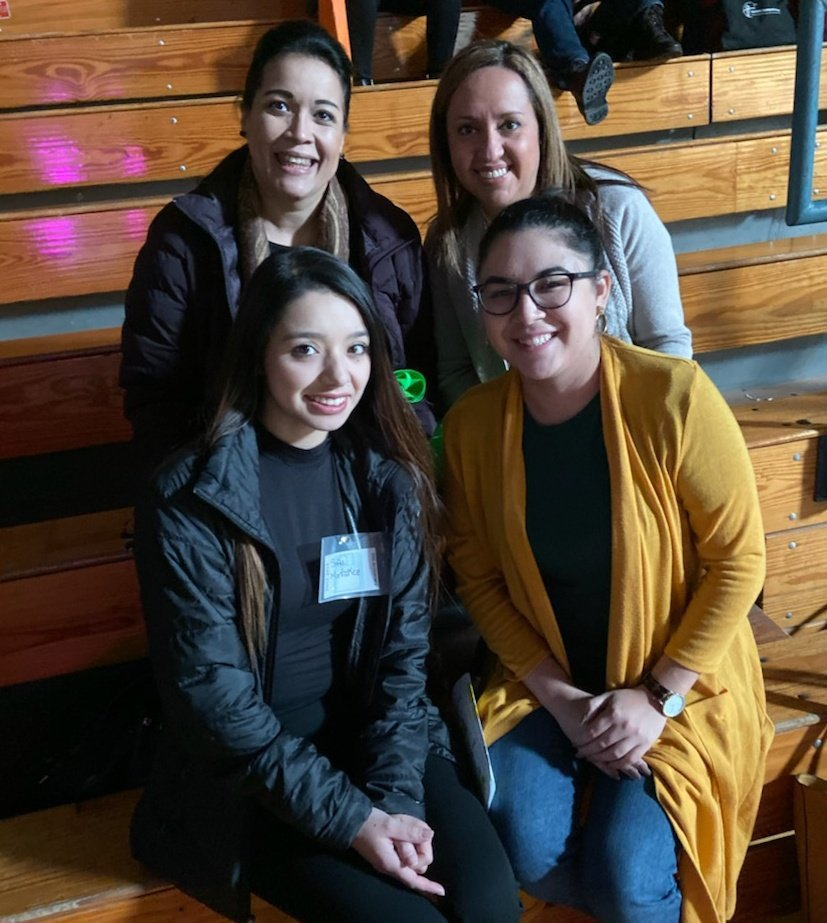 Spending our Saturday in learning mode at the TnTc2019 conference! #THEDISTRICT @YsletaISD @CPuga72 @Flores_Norma22