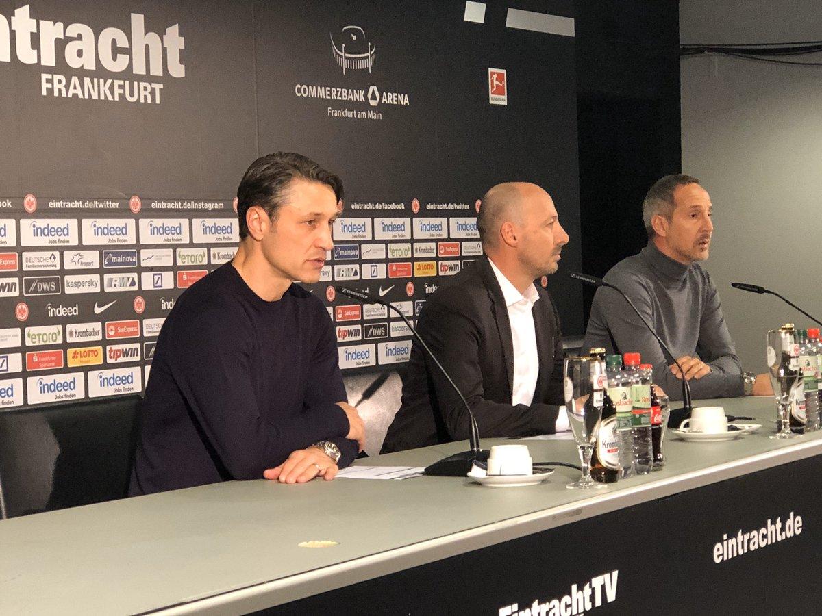 """""""Das Spiel ist genau so gelaufen, wie wir es nicht wollten. Auch mit einem Mann weniger darf man hier nicht 5-1 verlieren. Das ist enttäuschend."""" Niko #Kovač nach #SGEFCB"""