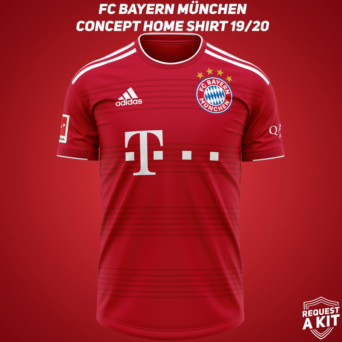 Request A Kit On Twitter Fc Bayern Munchen Concept Home Away And Third Shirts 2019 20 Requested By Haiqalbudrizaa Fcbayern Bayern Munich Fcb Miasanmia Sgefcb Fm20 Wearethecommunity Download For Your Football Manager Save