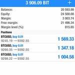 Image for the Tweet beginning: #MoneyMoves #BitUsd #BTCUSD 👍🏽💯🔥🔥🔥🔥 #bitcoin