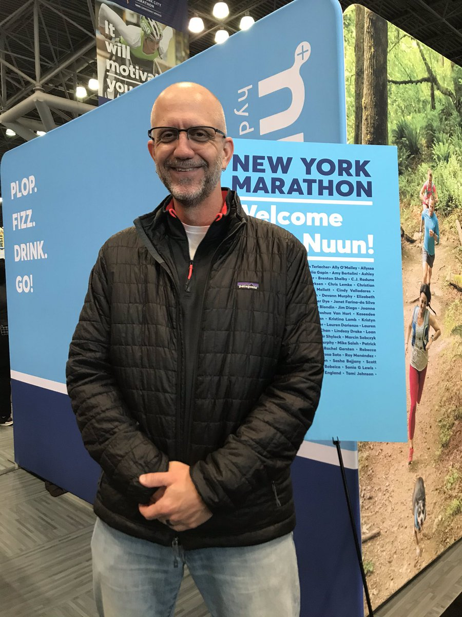 Swung by the @nuunhydration booth at the NYC Marathon expo to say hi and get my NYC Nuun water bottle!  And thanks to Mason for taking the pic! #nuunlife #nuunbassador #nuunbassador2019 <br>http://pic.twitter.com/nBvZboXTap