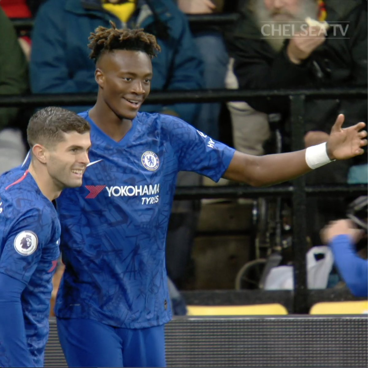 9️⃣ @PremierLeague goals for our number 9️⃣! 👏 @TammyAbraham! #WATCHE