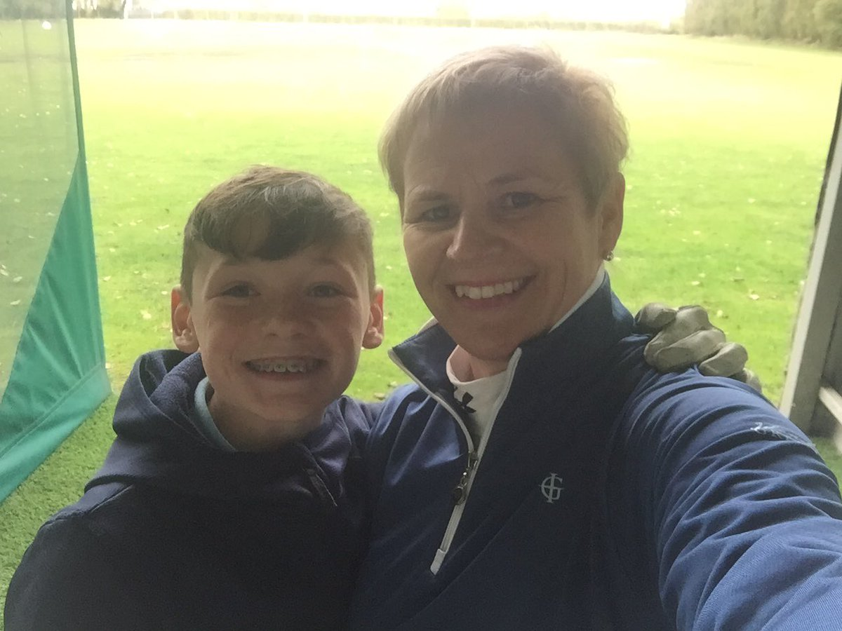 Great day with the nephew 🏌️♂️