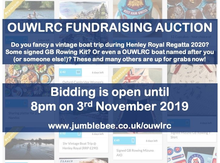 test Twitter Media - Less than 24 hours remaining to bid in our online auction! Items include a boat trip at Henley Royal, a glider flight and the chance to name one of the OUWLRC boats - don't miss out! https://t.co/lc2b44p1xK https://t.co/0sqnVHubai
