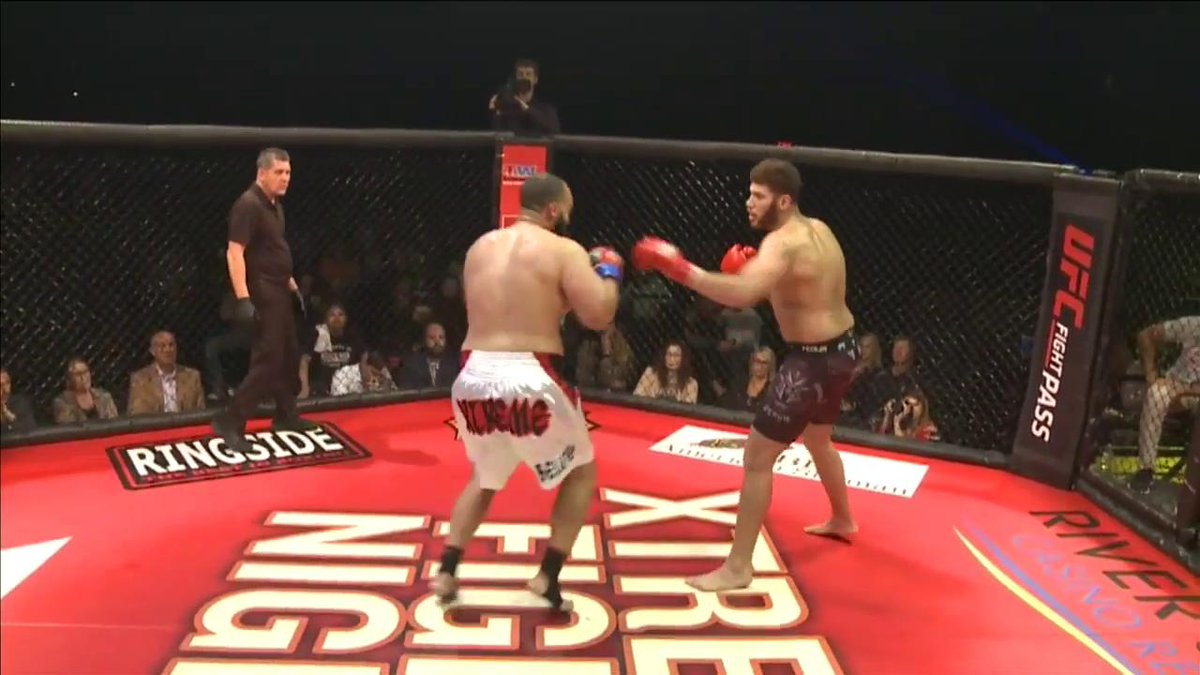 Showtime Pettis style, eh?  #XFN363