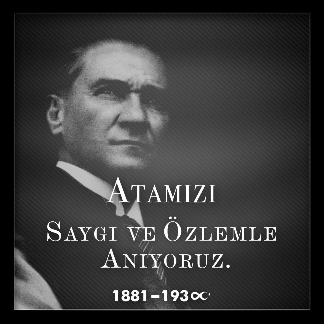 Atamızı saygı, minnet ve özlemle anıyoruz. #10Kasım #Atatürk #lcwaikiki https://t.co/2DCtXM3xXh