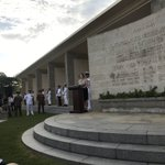 Image for the Tweet beginning: We remembered them at Kranji