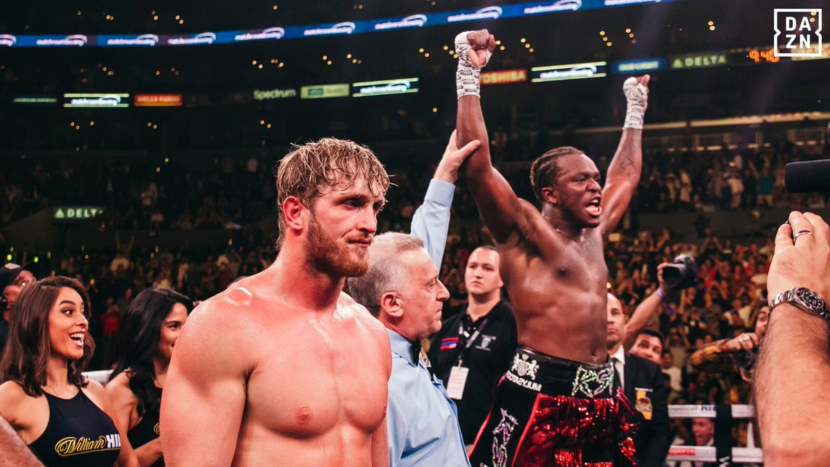 YouTube star KSI defeats Logan Paul in a controversial boxing rematch