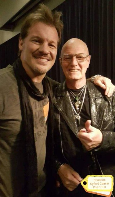 Happy Birthday to Chris Jericho Wrestler and frontman of \Fozzy\