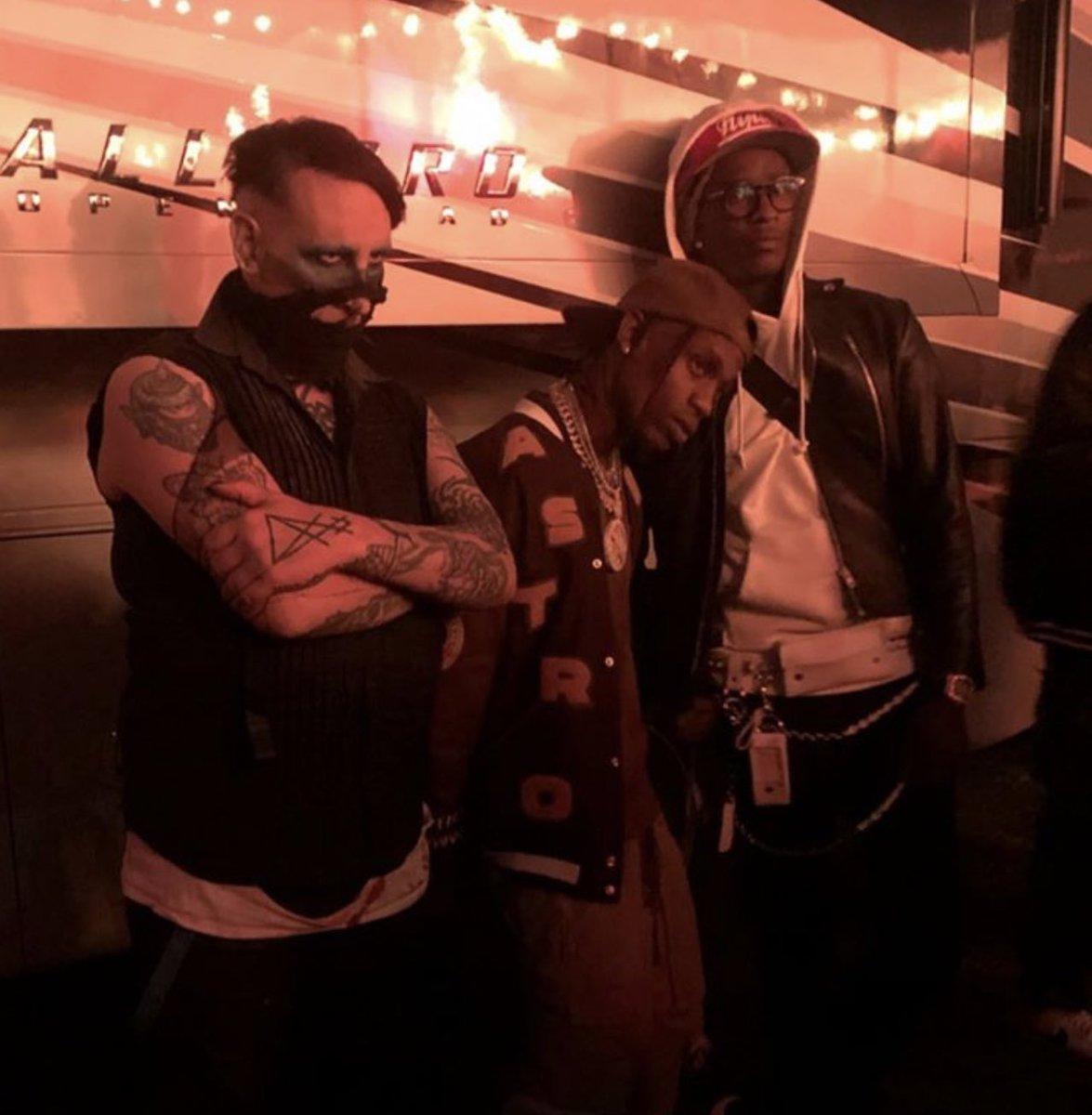 Marilyn Manson, Travis Scott, & Young Thug #ASTROWORLDfestival