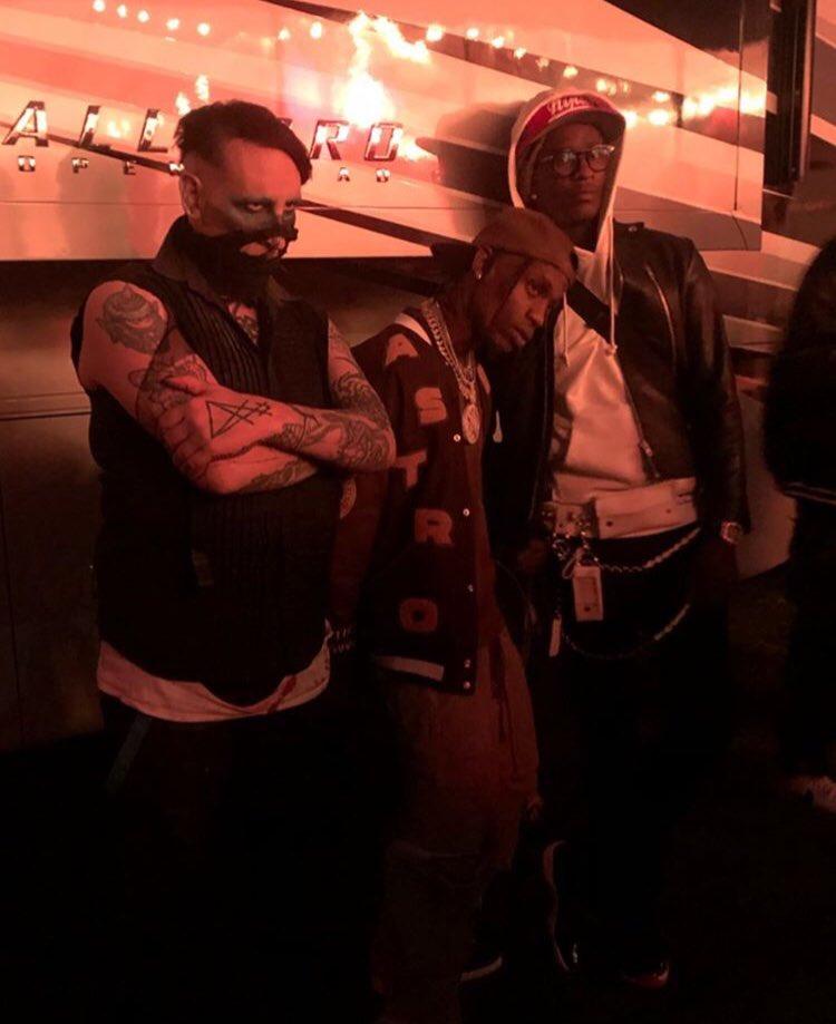 Marilyn Manson x Travis Scott x Young Thug
