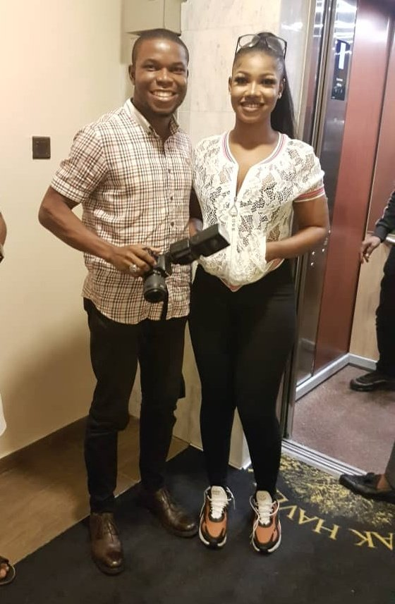 Meet my sister, Tacha, Queen of the Titans , such a humble person. Glad to have supported @Symply_Tacha!  Port Harcourt way!   #GraceUponTacha #TachaHomecoming  #TachaStormsPH  #TachaMeetGovWike #tachathanksgivingday #TachaPHFirstDaughter<br>http://pic.twitter.com/4uflqx89i5