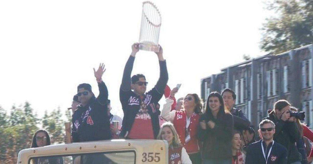 Parade honors World Series champs Washington Nationals