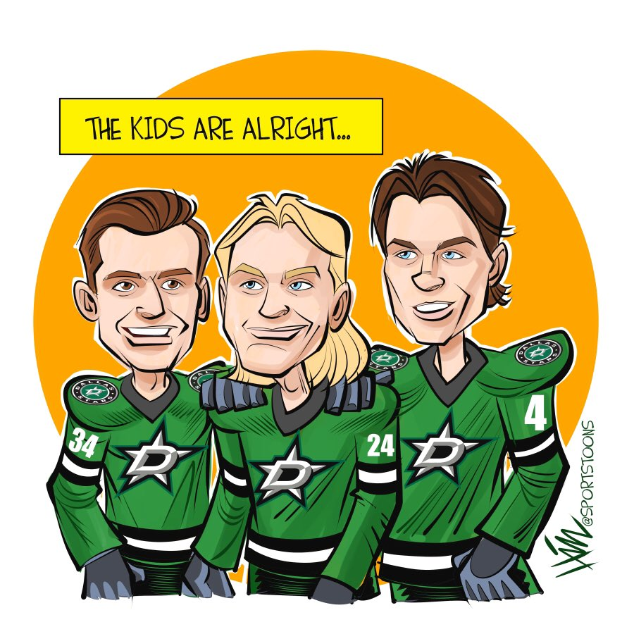 Gotta love the Stars future #GoStars #NHL