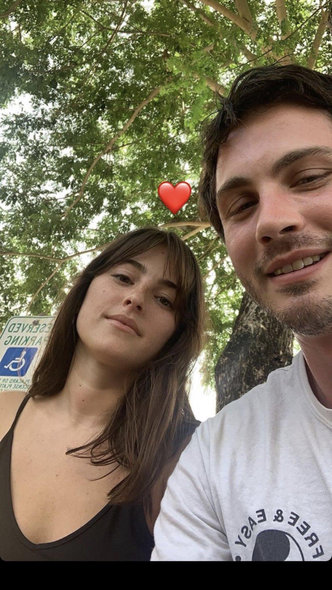 Logan Lerman and his girlfriend ...