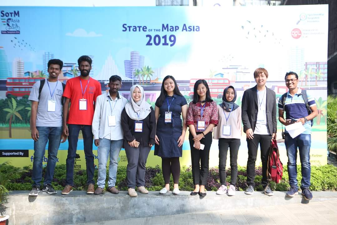Some of SotM Asia 2019 Scholars