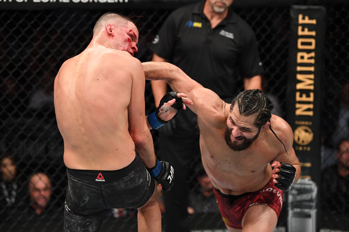 Jorge Masvidal vs Nate Diaz