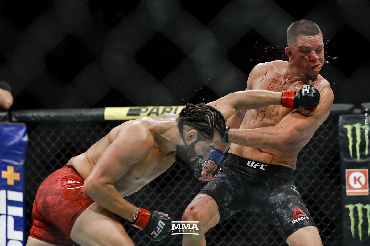 Jorge Masvidal Defeats Nate Diaz
