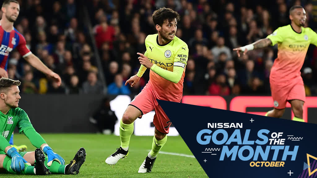 Plenty of fine strikes throughout October...⚽️  But which one gets your vote for @NissanFootball's Goal of the Month? 🤔  VOTE NOW! ➡ https://bit.ly/328wzQk  🔵 #ManCity