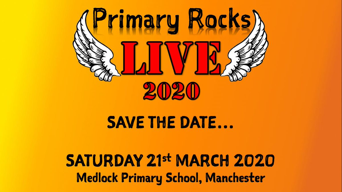 VERY excited to be sponsoring Primary Rocks Live! Whos going?!